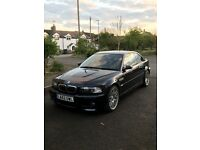 Bmw M3 E46 Manual Coupe Low Mileage 55k Carbon Black