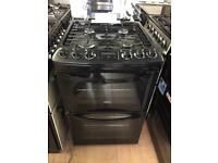 Zanussi Black gas cooker