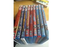 9 Thomas And Friends DVDs