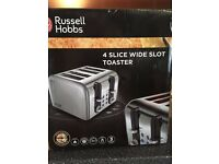 New & unused Russell Hobbs toaster