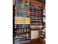 2 boxes Job lot of DVDS, ranging from chick flick to superheroes.