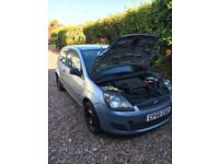 Ford Fiesta 1.25 2006 with mot in need of some attention