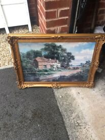 Robert Gallon Framed Painting