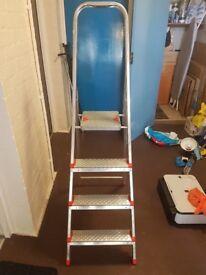 4 Step Ladder in alluminium