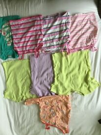 Girls summer clothes bundle includes tshirts tops all George brand except one chereoke