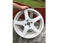 "Vauxhall corsa C 17"" alloy wheel"