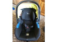 Silver cross car seat with foot muff