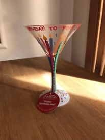 Lolita martini glass