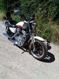 Harley XL883L Superlow 2012