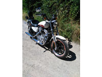 Harley XL883L Superlow 2012