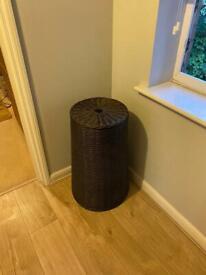 Habitat brand laundry basket/bin with removable cotton lining