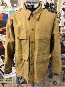 Superb CC Filson Seattle Tin Cloth Cruiser Jacket Workwear Utility Coat Large 44