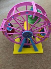 Peppa pig big wheel toy