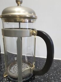 Coffee grinder, coffee maker and Cafetiere