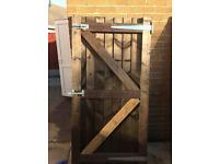 Framed treated gate