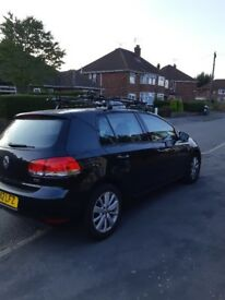 Vw golf 1.6 tdi match fvwsh metallic black