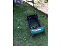 Qualcast Hand Powered Cylinder Lawnmower