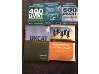 MEDICAL SCHOOL ENTRANCE EXAM UKCAT/BMAT INCLUDING KAPLAN/ISC INTERVIEW COURSE NOTES
