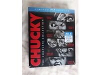 CHUCKY Limited Edition Blu-ray Disc The Complete Collection, All 6, New & Sealed