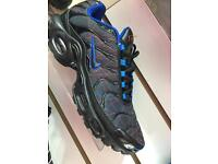 Mens Nike air max TNs blk/red Lazer/blue (6-11)