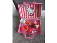 Hello kitty picnic hamper