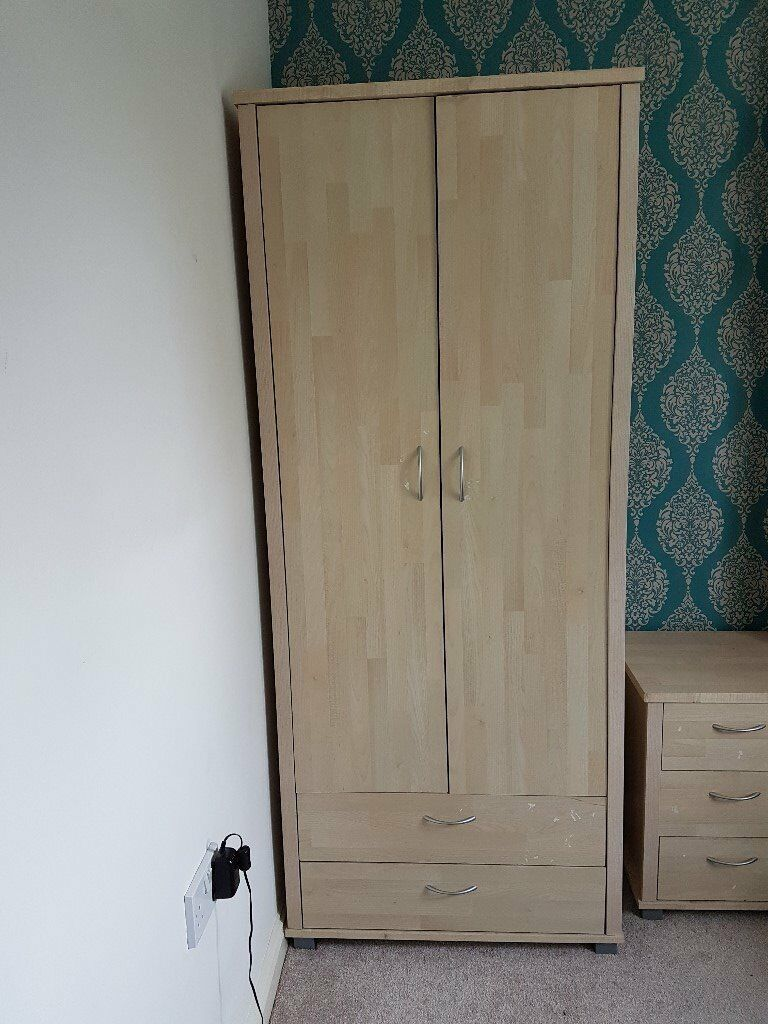 small wardrobe and chest of drawers set - Small Wardrobe