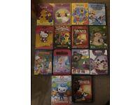Children's DVDs £5