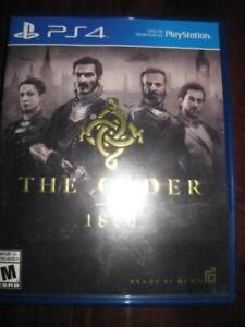 The Order 1886 For PS4 Game System. Realistic Victorian Era. Knights of Order. Cut Edge Weapon. Arc Gun. Thermite Rifle
