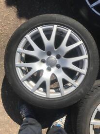 Audi TT alloys 245/45/17