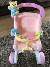 Fisher price dolls pushchair