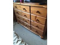 Pine Bedroom Furniture, great condition