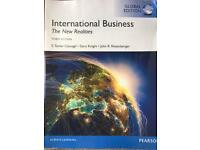 International Business: The New Realities. Cavusgil, Knight & Riesenberger