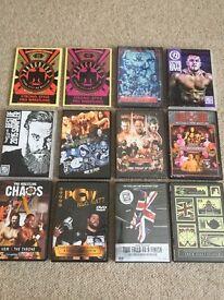 Wrestling DVDs - ROH, Progress, WWE