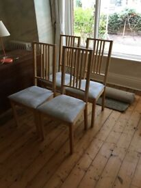 x 4 Dining room chairs