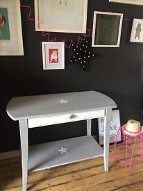 Ikea Console Table Ikea hack With Stars