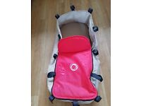 Bugaboo Carrycot Red & Tan
