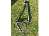 Whyte 801 large bike frame plus back wheel, cassette and tyre