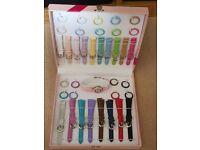 Mutiple coloured watch set