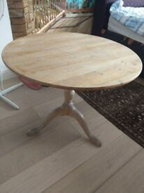 """WOODEN DINING TABLE STURDY 34"""""""