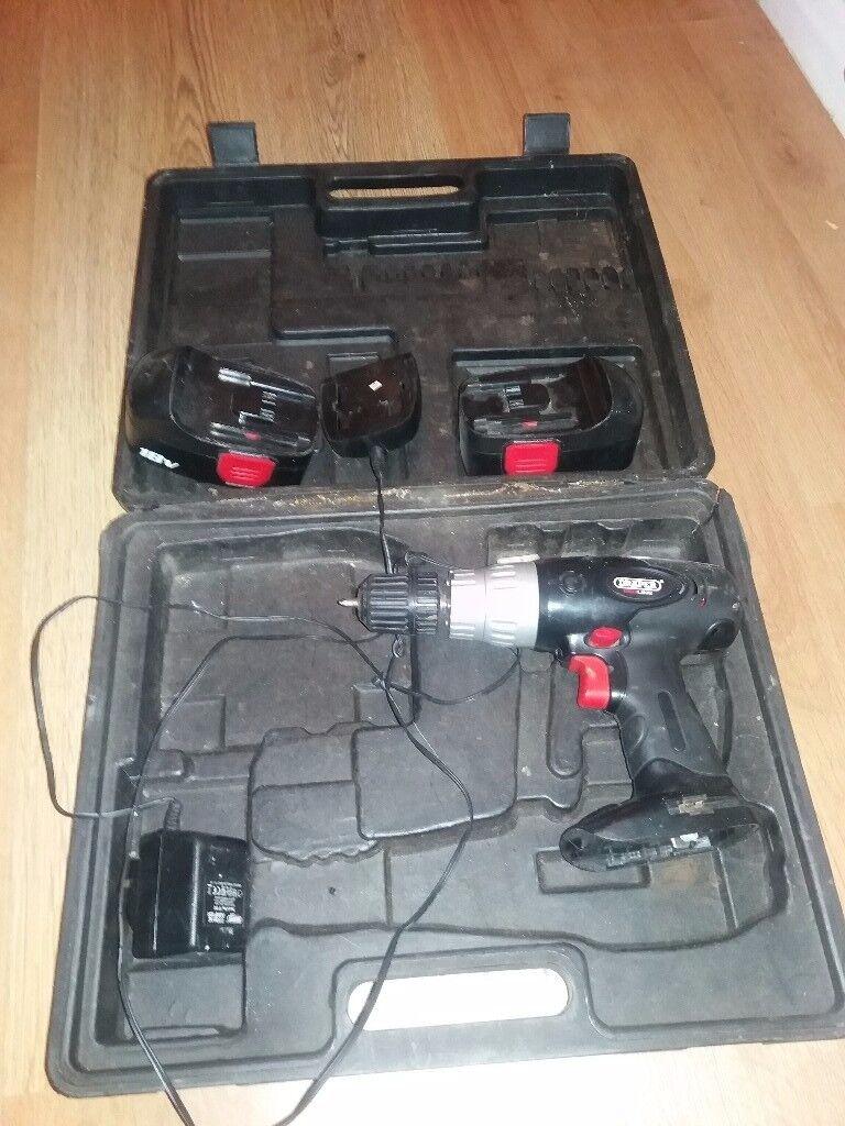 Electronic drill draper redline
