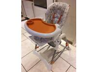 Red Kite 3-in-1 high chair