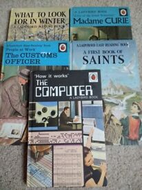 5 Classic Ladybird Easy Reading Books