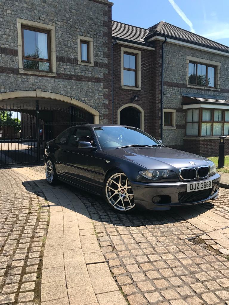 2006 320cd e46 m sport coupe ( m3 m5 type r Audi vw seat )   in Ballinderry  Upper, County Antrim   Gumtree