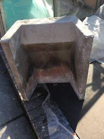 Heat Resistant Concrete Fireback