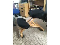 """FOR SALE - OFFICE """"KNEELING CHAIR"""" - EXCELLENT CONDITION."""