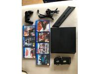 PS4 500gb 7 games, vertical stand and wireless controller