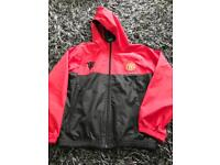 Boys Man Utd jacket age 8-9