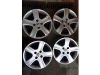 "16"" inch Peugeot 307 306 Alloy wheels fits Partner Citroen Berlingo 307 Saxo alloys"
