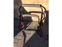 Halfords bike rack fits upto 2 bikes (30kg max)