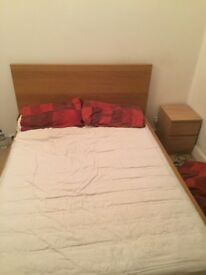 Double bed - good as new